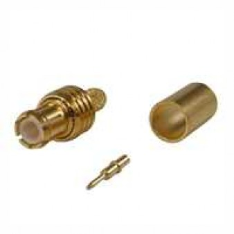 MCX Kabelstecker Crimp