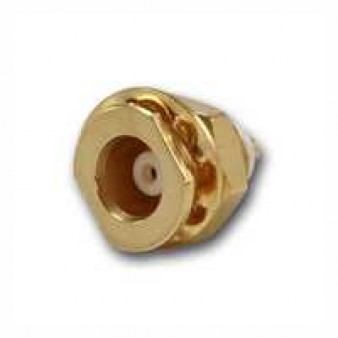 MCX Bulkhead Receptacle, female