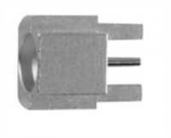 SMP Straight PCB Receptacle in SMT and Edge-Mount