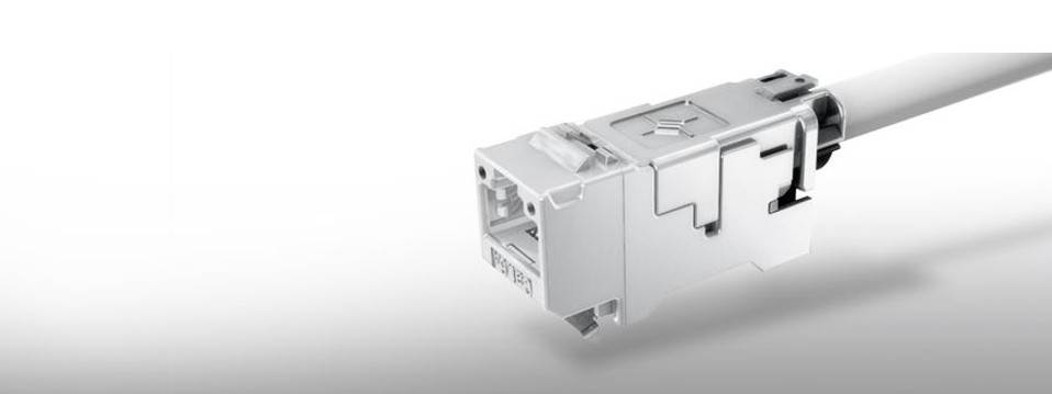 Discover the slim-line AMJ-S Module Cat.6A.